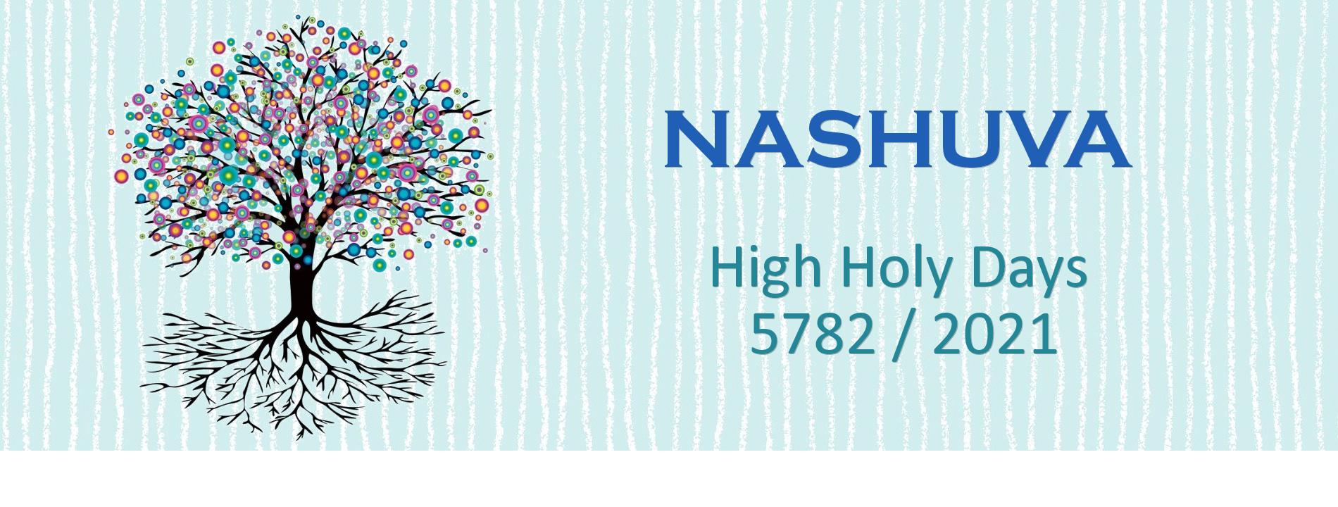 Nashuva High Holy Days 5782/2021